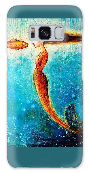 Extinct And Mythical Galaxy S8 Case - Mystic Mermaid II by Shijun Munns