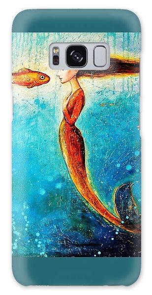 Fish Galaxy S8 Case - Mystic Mermaid II by Shijun Munns