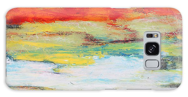 Abstract People Galaxy Case - Mystic River-jp2476 by Jean Plout
