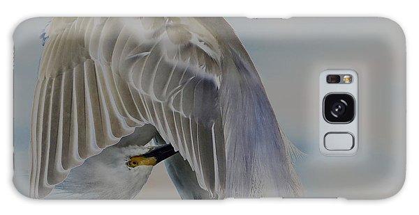 Mystical Egret Galaxy Case by Pamela Blizzard