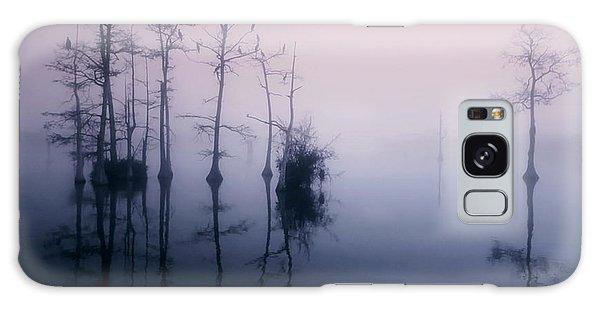Mystical Morning On The Lake Galaxy Case by Myrna Bradshaw