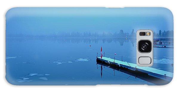 Mystical  Morning - Skaha Lake 03-06-2014 Galaxy Case