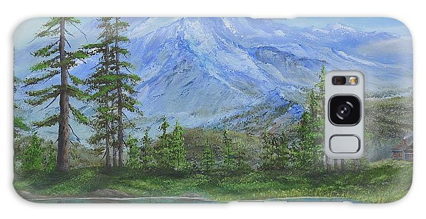 Mystical Mt. Rainier  Galaxy Case