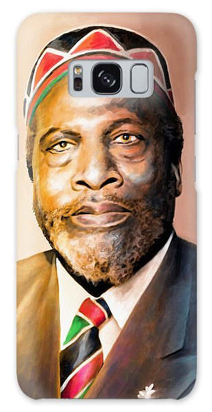 Mama Africa Galaxy Case - Mzee Jomo Kenyatta by Anthony Mwangi