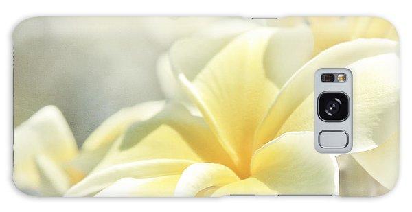 Na Lei Pua Melia Aloha E Ko Lele Galaxy Case