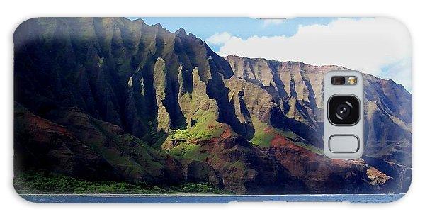 Na Pali Coast On Kauai Galaxy Case by Amy McDaniel