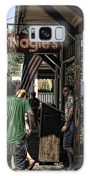 Nagle's Apothecary Cafe Galaxy Case
