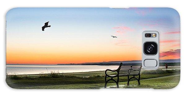 Nairn Beach At Dawn Galaxy Case