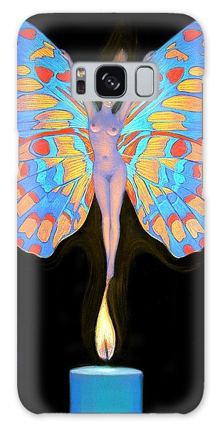 Naked Butterfly Lady Transformation Galaxy Case