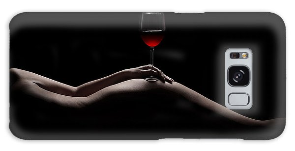 Contour Galaxy Case - Naked Wine by Jt PhotoDesign