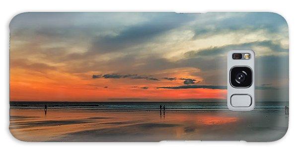 Nantasket Beach Sunrise Galaxy Case