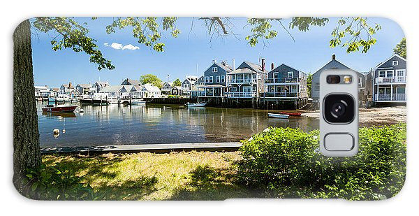 Nantucket Homes By The Sea Galaxy Case