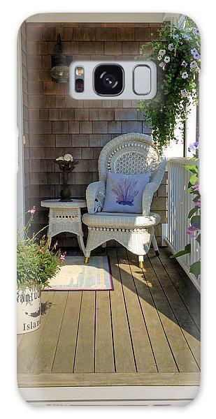 Nantucket Porch Galaxy Case