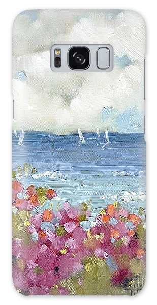 Nantucket Sea Roses Galaxy Case