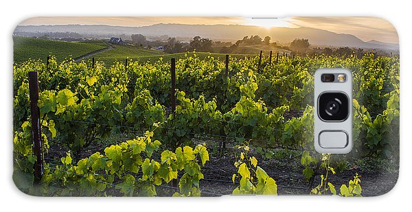 Napa Valley Sunset  Galaxy Case by John McGraw