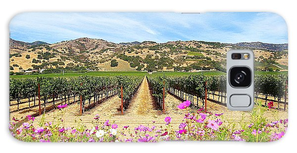 Napa Valley Vineyard With Cosmos Galaxy Case