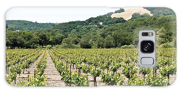 Napa Vineyard With Hills Galaxy Case