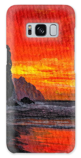 Napali  Galaxy Case by Darice Machel McGuire