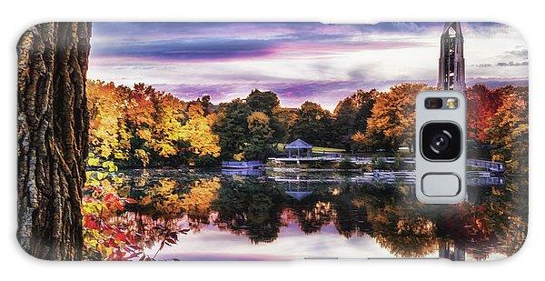 Naperville In Autumn Galaxy Case