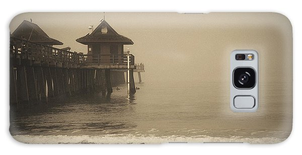 Naples Pier In The Fog Galaxy Case