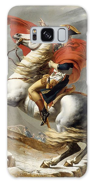 Napoleon Bonaparte On Horseback Galaxy Case