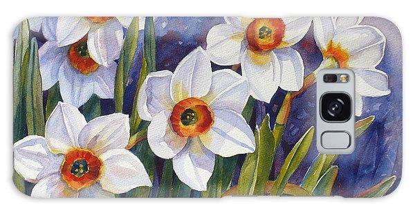 Narcissus Daffodil Flowers Galaxy Case