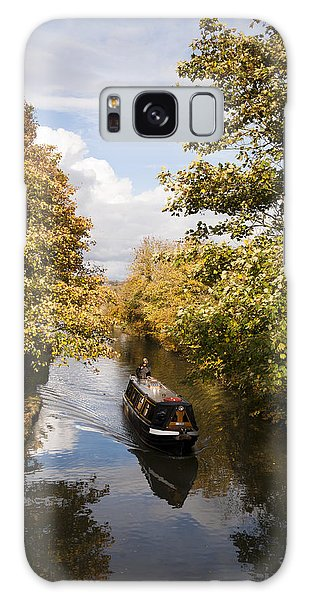 Narrowboat On The Grand Union Galaxy Case