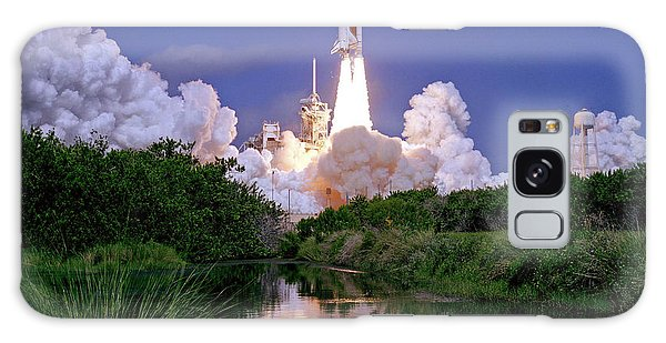 Nasa Atlantis Launch 1 Galaxy Case by Rod Jones