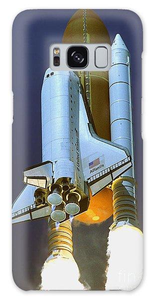 Nasa Atlantis Launch 2 Galaxy Case