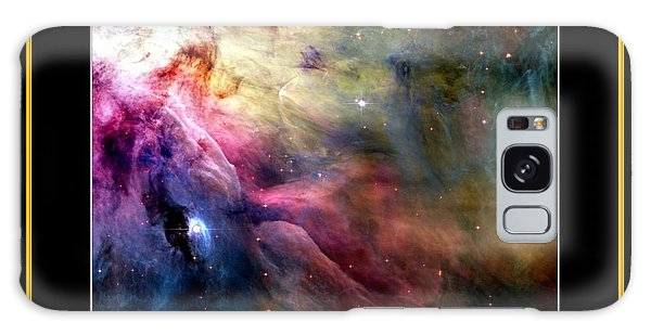 Galaxy Case featuring the photograph Nasa Ll Ori And The Orion Nebula Stars Of Heaven Bless The Lord by Rose Santuci-Sofranko