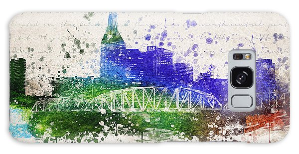Nashville In Color Galaxy Case by Aged Pixel