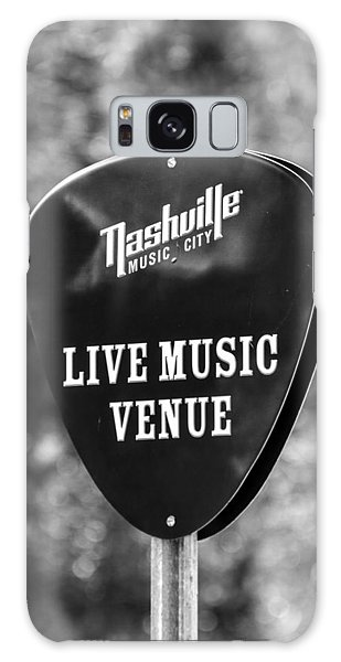 Nashville Music City Sign Galaxy Case by Debbie Green