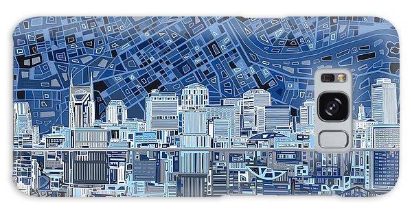 Nashville Skyline Abstract Galaxy Case
