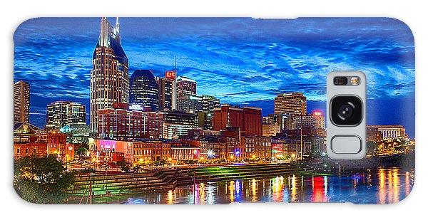 Nashville Skyline Galaxy Case