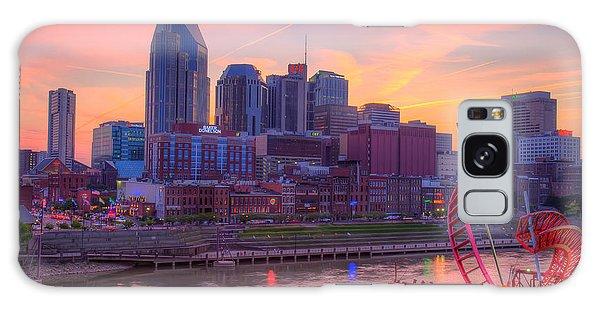 Nashville Sunset Galaxy Case