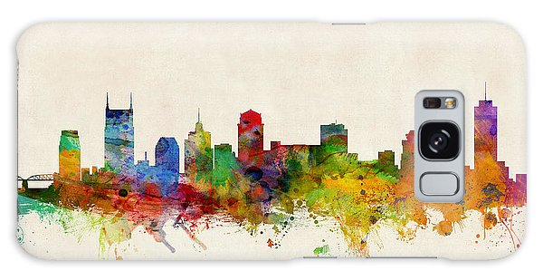 Poster Galaxy Case - Nashville Tennessee Skyline by Michael Tompsett