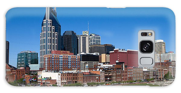 Nashville Tennessee Skyline Galaxy Case