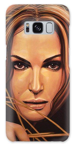 Swan Galaxy S8 Case - Natalie Portman by Paul Meijering