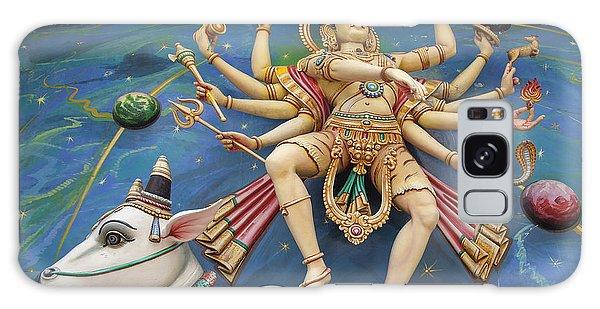 Nataraj Dancing Shiva Statue Galaxy Case