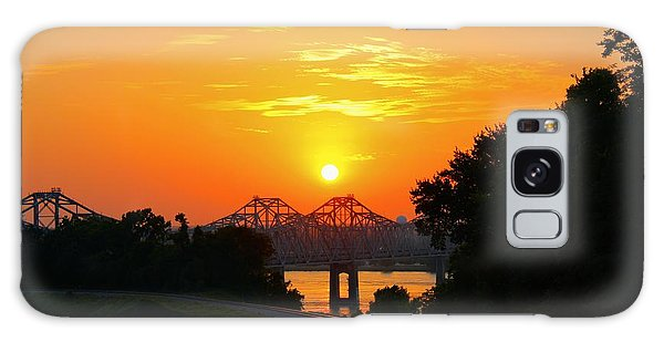 Natchez Sunset Galaxy Case