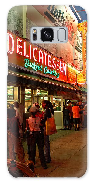 Nathans Coney Island Galaxy Case by James Kirkikis