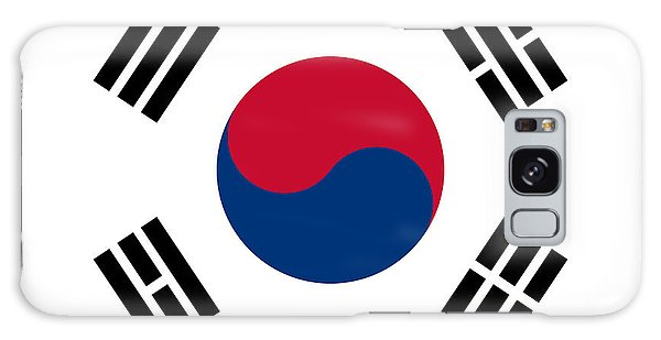 National Flag Of South Korea Authentic  Galaxy Case