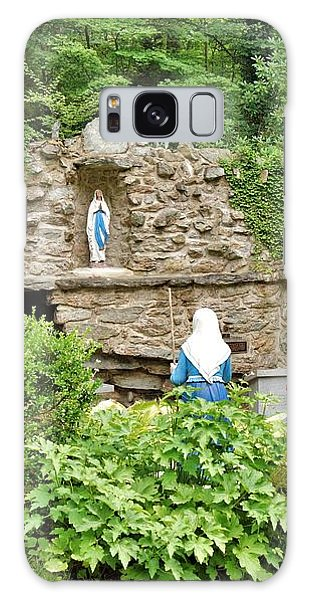 National Shrine Grotto Of Our Lady Of Lourdes Galaxy Case