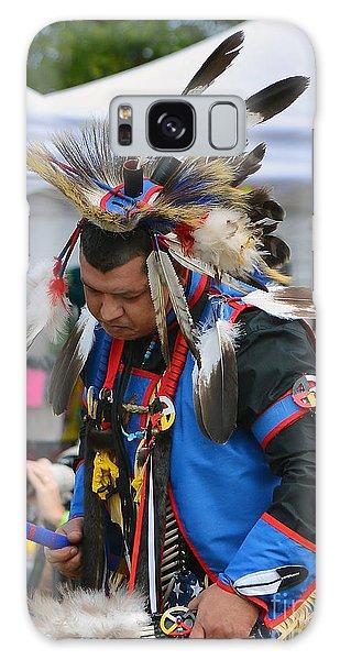 Native American Dancer Galaxy Case by Kathy Baccari