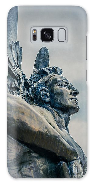 Indian Head Galaxy Case - Native American by Edward Fielding