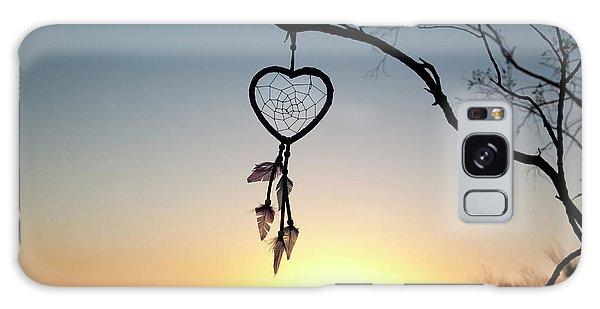 Heart Galaxy Case - Native American Heart Shaped by Angel Wynn