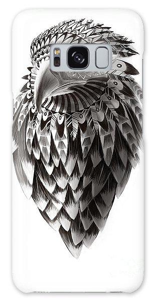 Hawk Galaxy Case - Native American Shaman Eagle by Sassan Filsoof