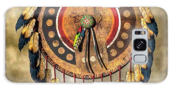 Native American Shield Galaxy Case by Daniel Eskridge