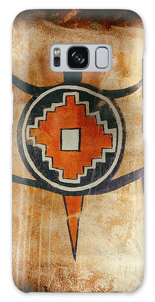 Native American Turtle Pictograph Galaxy Case