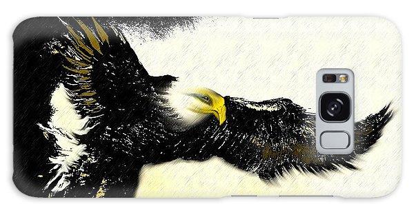 Native Eagle Galaxy Case